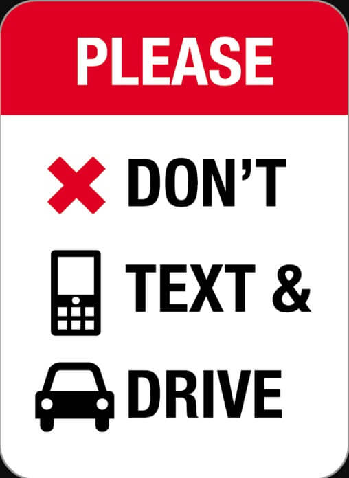 Dont Text and Drive!!!