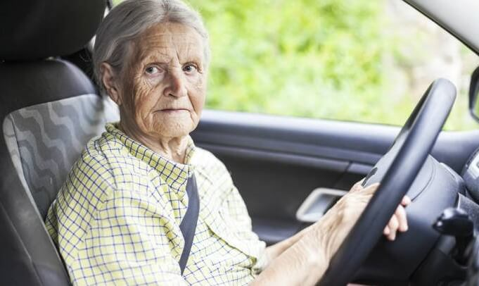 Auto accidents – elderly drivers???