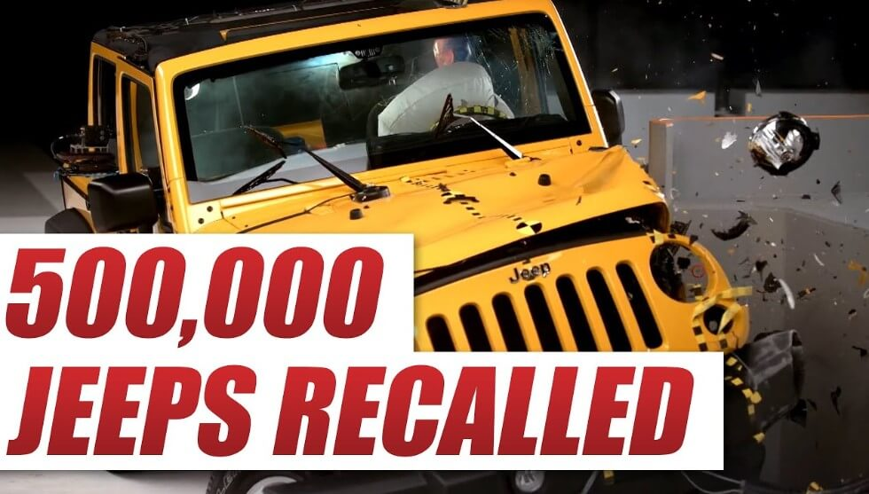 Jeep Recall – Law Offices of Aronberg, Aronberg & Green