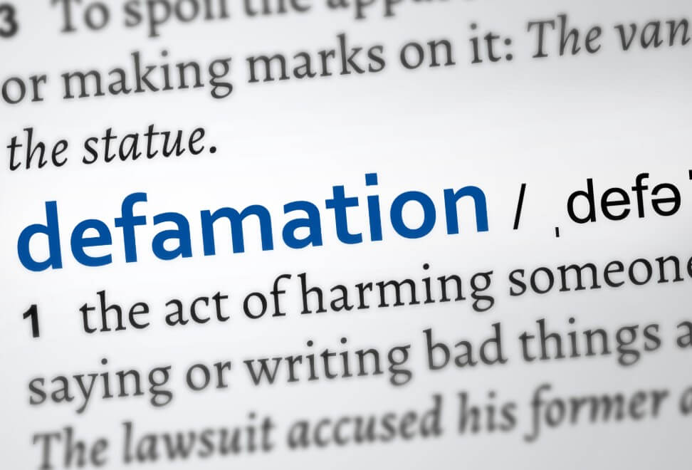 Defamation – what is it? Law Offices of Aronberg, Aronberg & Green