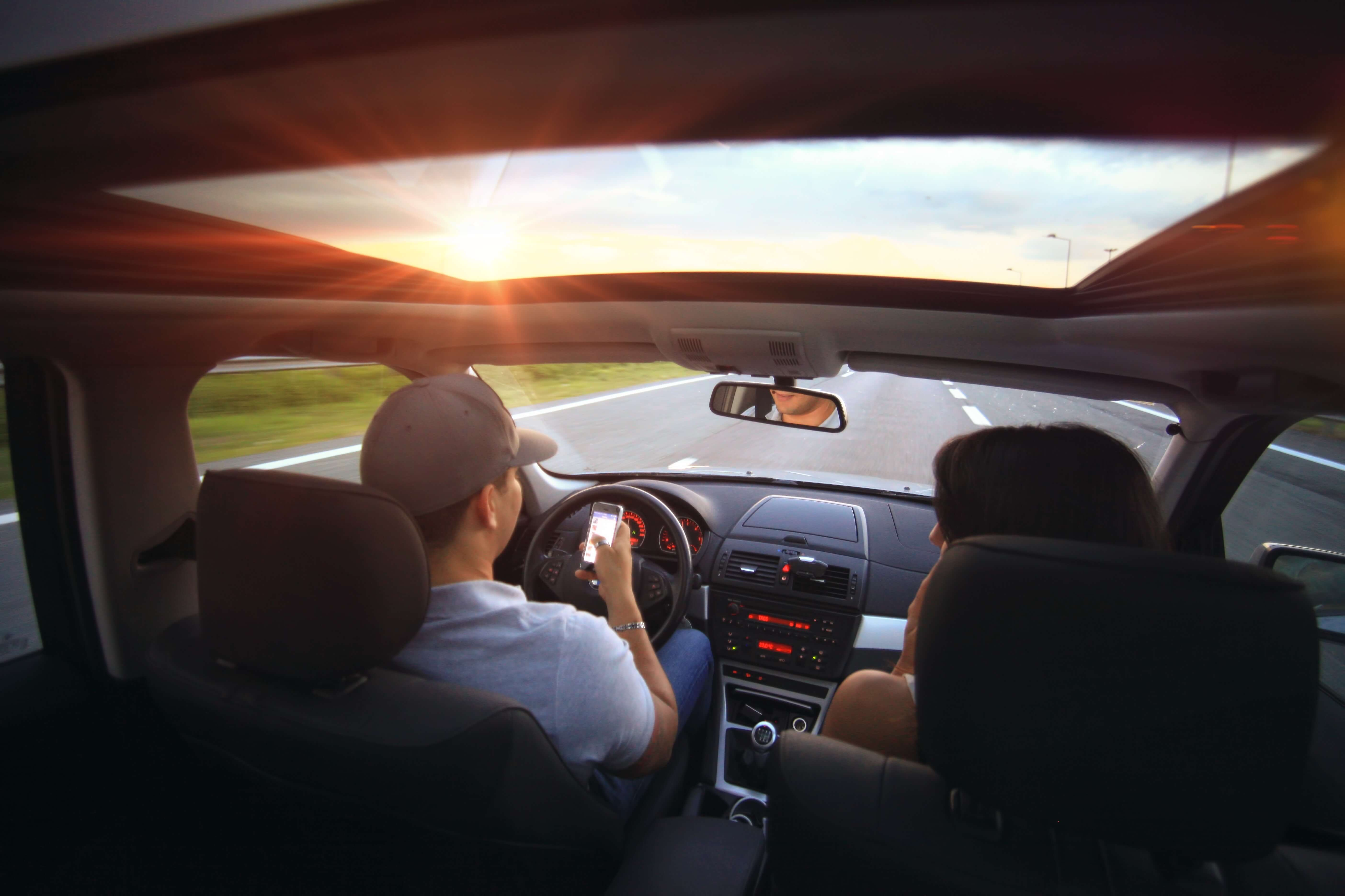 Insurance Report: Web Surfing While Driving is on the Rise