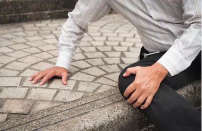 Slip-and-falls can cause serious injuries to elderly