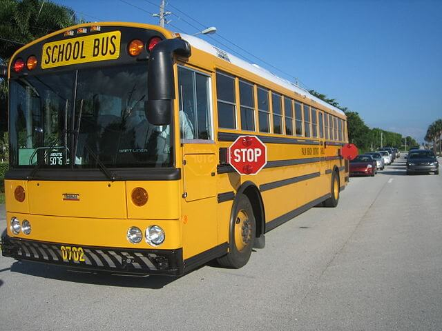 Safety on Palm Beach County School Buses – No Child Left Behind