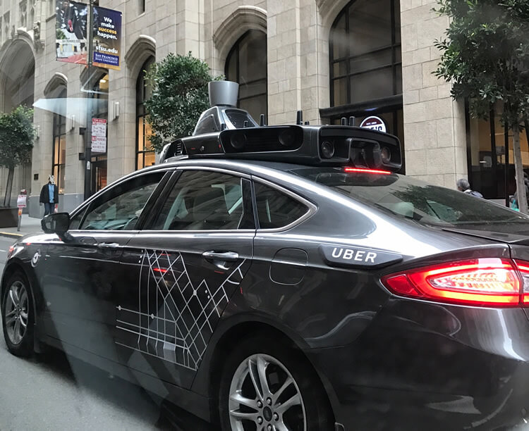 Uber self-driving car- auto accident liability