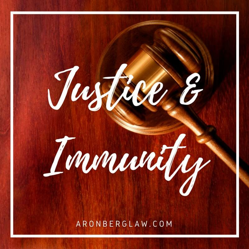 Justice in Facing Governmental Immunity