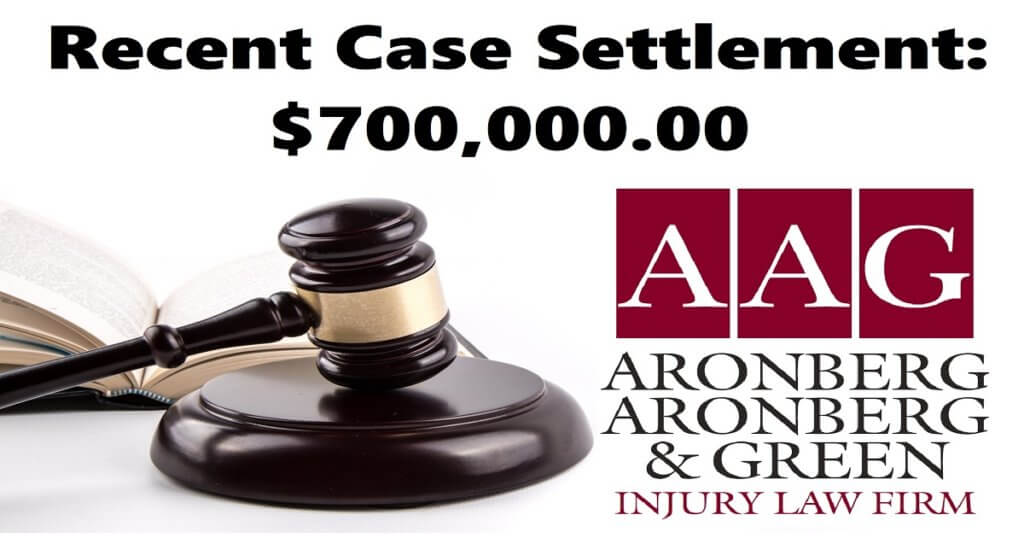 Auto Accident Settles for $700,000.00