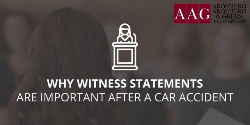 The Importance Of Witness Statements After A Car Accident