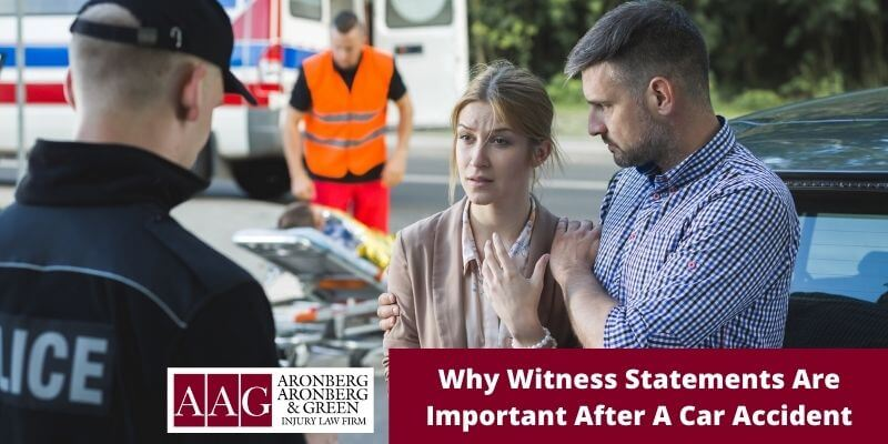 Why Witness Statements Are Important After A Car Accident